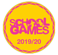 School Games Pink Logo